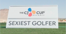 PGA Tour player achieves goal of being named SEXIEST GOLFER in the world