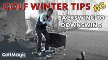 backswing to downswing golf drill