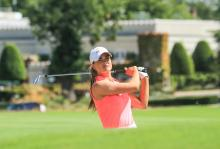 Ladies European Tour star Annabel Dimmock signs with TaylorMade Golf