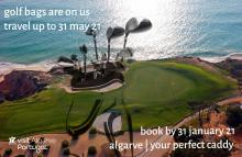 """Golf Clubs Still On Us"": Algarve extends free golf bag booking window"