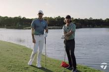 Rory McIlroy & Tommy Fleetwood take part in TaylorMade Water Skipping Challenge