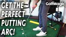 Video: Putting tips #1 - improve your golf at home