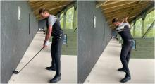 Best Golf Tips: How to improve your DRIVING using the WALL DRILL