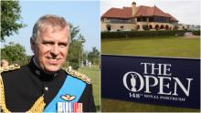 Prince Andrew cost taxpayers £16,000 to take private jet to watch the Open