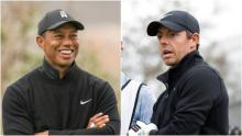 "Rory McIlroy on Tiger Woods: ""Even from the hospital bed he's giving me heat!"""