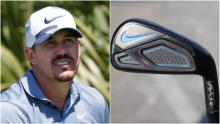 Brooks Koepka is still using a Nike 3-iron from SEVEN YEARS ago!