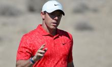 Rory McIlroy meets Sebastian Vettel and other F1 drivers at US Grand Prix