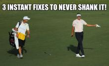 3 instant fixes to cure a shank like the one played by ian poulter