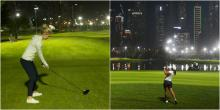 Night golf: Would YOU play more if it was available in the UK?
