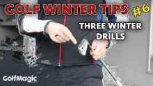 golf winter tips best golf practice drills