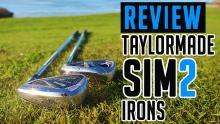 TaylorMade SIM2 Irons Review   SIM2 Max vs SIM2 Max OS