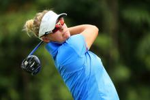 LPGA player cleared of penalty, then docked one stroke after video review