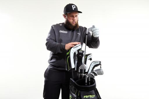 COBRA PUMA Golf signs European Tour star Andrew 'Beef' Johnston
