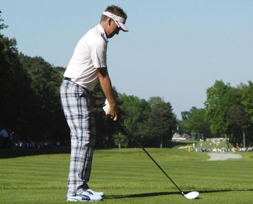 Swing sequence: Ian Poulter 2012