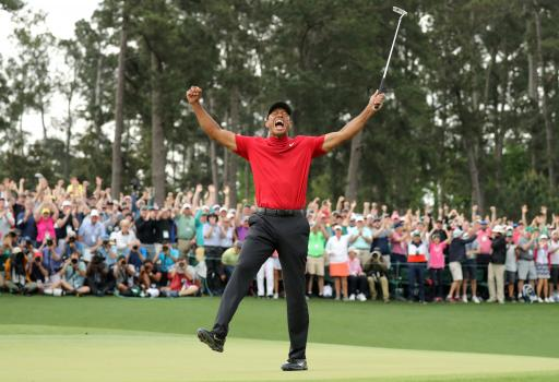 OUTFIT OF THE WEEK: Tiger Woods 2019 Masters Sunday Red