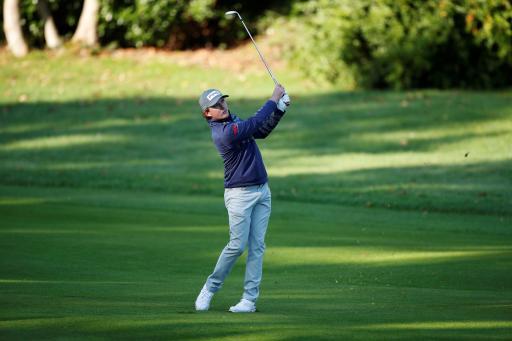 Golf fans REACT as Eddie Pepperell takes on Bryson DeChambeau-style gym drill