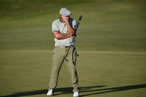 Bryson DeChambeau confronts PHOTOGRAPHER during Shriners Open third round