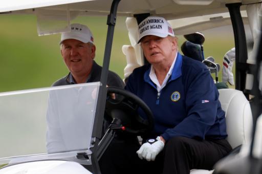 PGA Tour pro deletes Twitter account as golf fans jump on his Donald Trump tweet