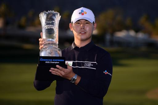 Si Woo Kim may soon have to leave the PGA Tour for military service