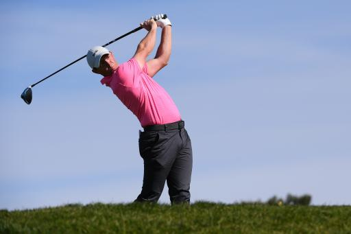 Rory McIlroy shows off BIZARRE new drill on the driving range