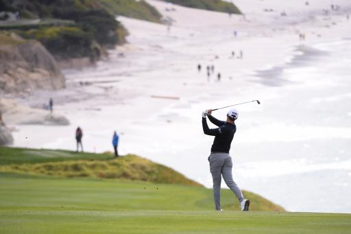 Social media reacts to mind-blowing Pebble Beach statistic