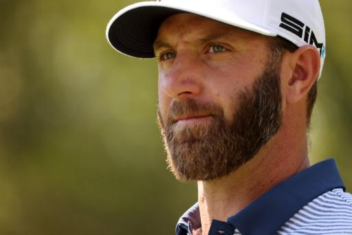 Dustin Johnson changes putter and uses new shaft for first time in his career