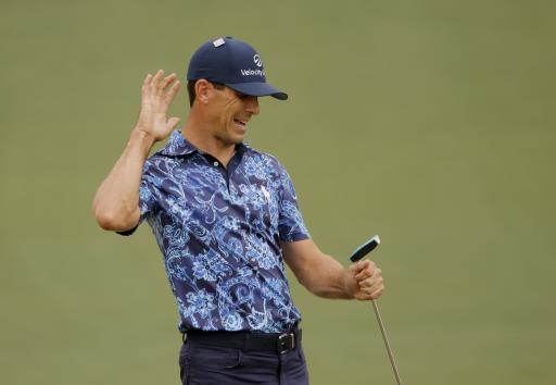 Billy Horschel caught doing the WORST STROP of the season during The Masters