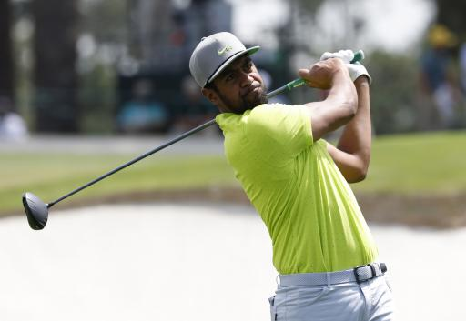 Tony Finau laughs at reporter for questioning his PGA Tour driving distance