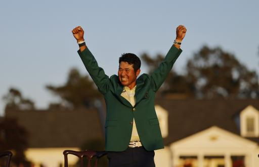 Hideki Matsuyama earned $7,446 PER SWING at The Masters