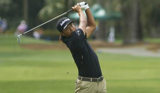 Golf fans react as Satoshi Kodaira holes AMAZING flop shot