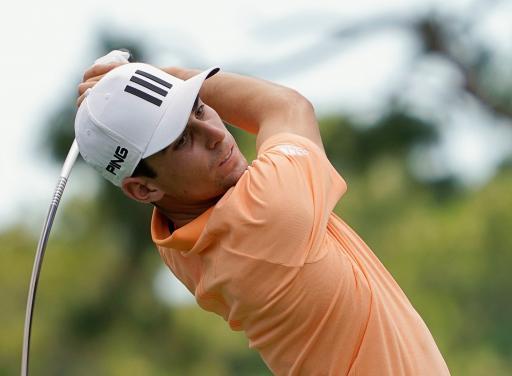 Golf fans react to Joaquin Niemann's UNIQUE swing at the Valspar Championship