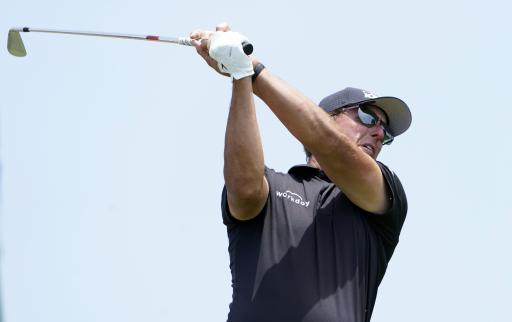 Phil Mickelson UNHAPPY with golf fans during first round of US Open
