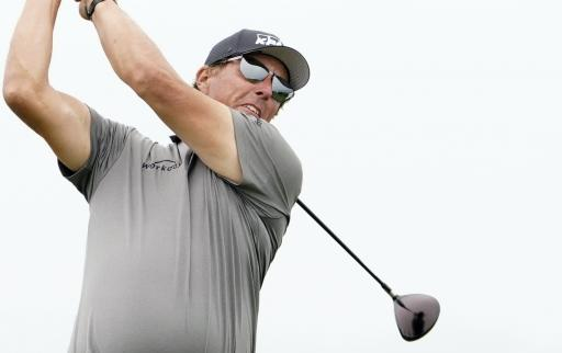 Golf fans react to Phil Mickelson's NEW HYBRID for Rocket Mortgage Classic