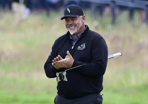 2011 Open Champion Darren Clarke LEADS THE WAY on day one at Senior Open