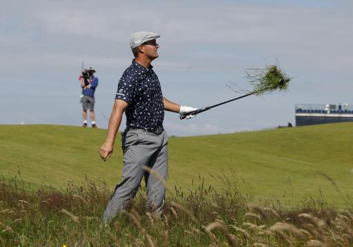 Bryson DeChambeau RECEIVES BOOS on 1st tee box on day two of Open Championship