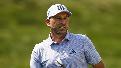 Sergio Garcia takes THREE SHOTS out of bunker in final round of BMW Championship