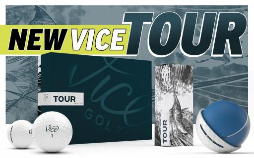 Vice Golf LAUNCH their new TOUR BALL, the ideal ball for the game