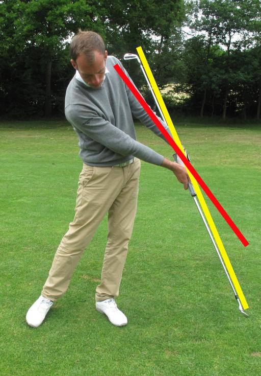 Golf Practice Drills: how to hit the ball before the ground