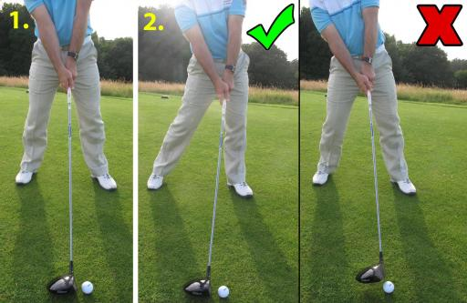 Golf Practice Drills: hit driver off the deck
