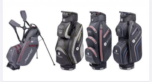 Motocaddy offers FREE BAG with any electric trolley