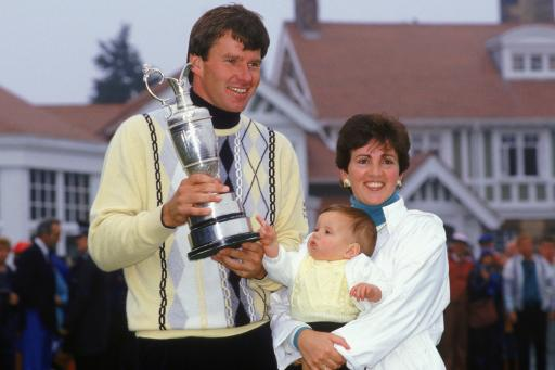 Nick Faldo at the Open: career in pictures