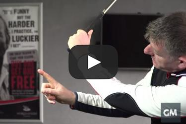"""How to stop the shanks: """"Imaginary knife"""" drill"""