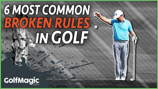 6 most common broken rules in golf for amateurs