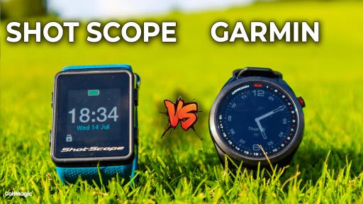 Garmin S42 vs Shot Scope V3 GPS Watch   Golf GPS Watch Comparison