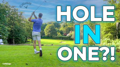 Callaway Chrome Soft CHASE THE ACE CHALLENGE! Can we make a HOLE IN ONE?