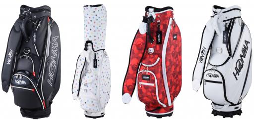 HONMA Golf unveils biggest ever Autumn/Winter caddie bag range