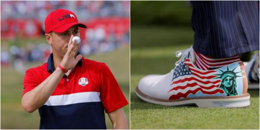 Justin Thomas is auctioning off Ryder Cup gear for his charity foundation