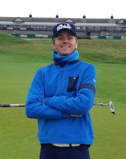 PGA pro plays all 14 Open venues by bike for Golf Foundation