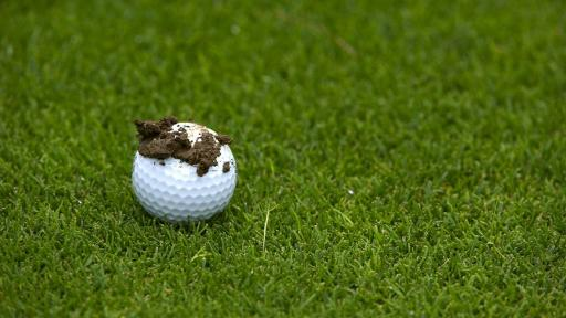 MUD BALL RULING - what is the golf rule in this scenario?