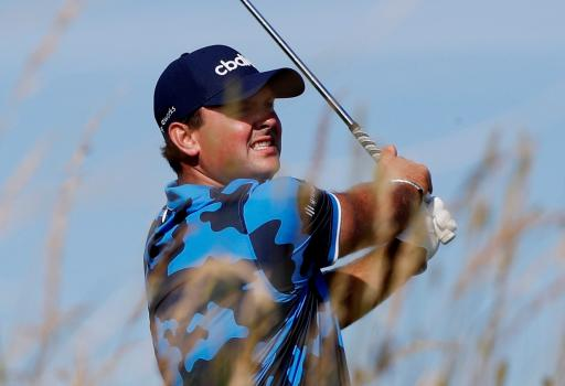 Patrick Reed appears to be back in a G/FORE shirt at The Open?!